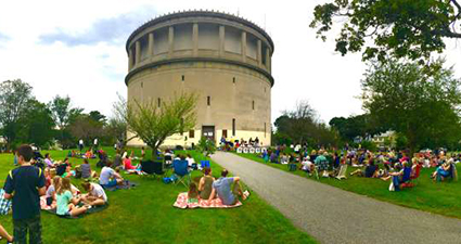 Jazz Concert at the Water Tower