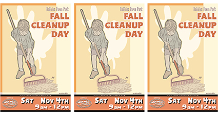 Fall Clean-up Day – Saturday, November 4