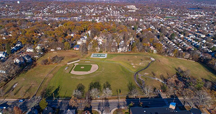 The Park from Above