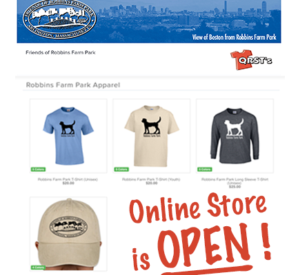 FORFP ONLINE MERCHANDISE STORE – JUST LAUNCHED!