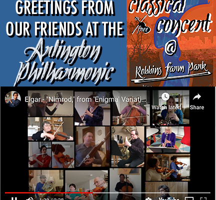 Arlington Philharmonic – A Virtual Classical Concert Piece