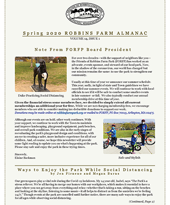 2020  FORFP NEWSLETTER NOW ONLINE
